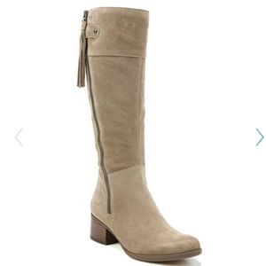 Naturalizer Wide Calf Suede Boot NWT